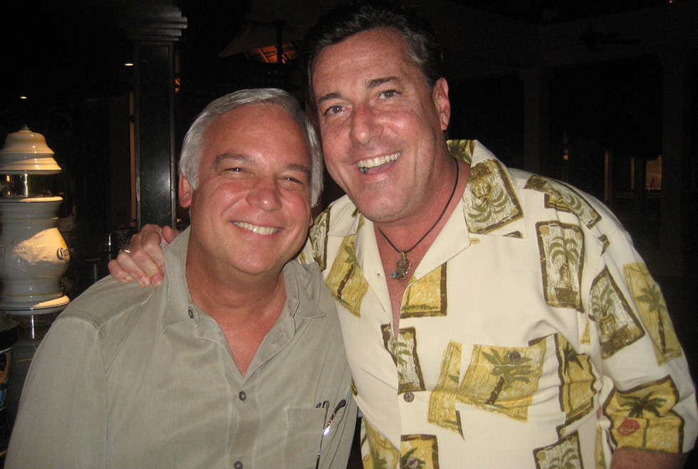 Jack Canfield, co-author of the Chicken Soup for the Soul Book Series, and Thomas Cook